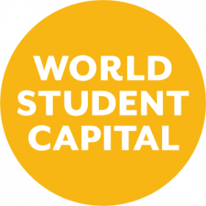 World Student Capital keltainen logo
